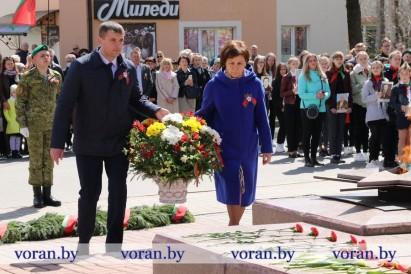 Мы Победою сильны! Праздничный митинг, посвященный Дню Победы в Великой Отечественной войне прошел в Вороново